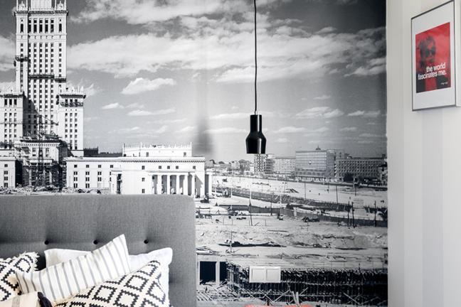 Retro minimalizm na warszawskim Muranowie