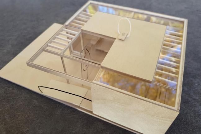 Dom dla niepełnosprawnego dziecka inspirowany Bauhausem