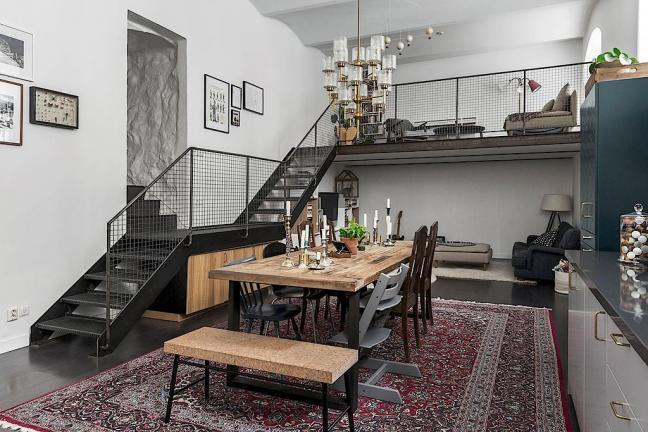 Nietypowe mieszkanie w Szwecji