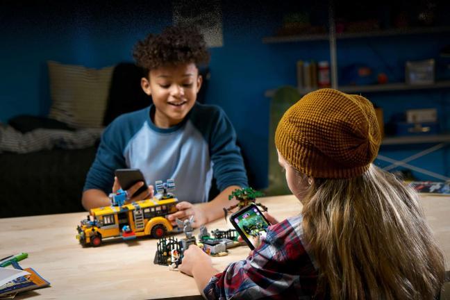 Lego wprowadza nową serię wykorzystującą ukrytą rzeczywistość