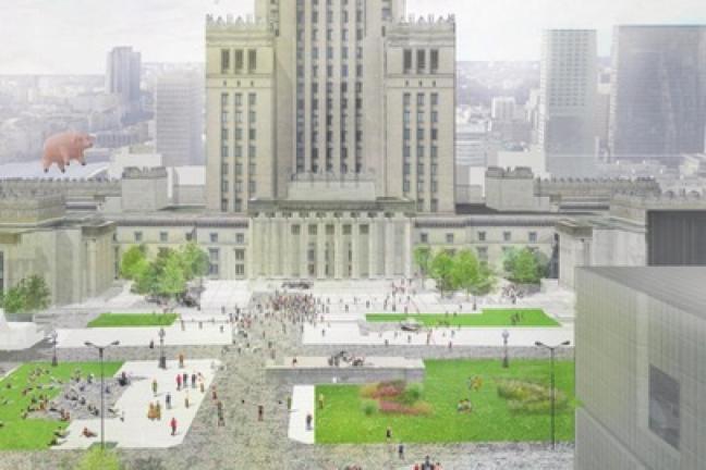 Wiemy, jak będzie wyglądał Plac Defilad