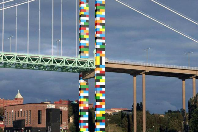 Most z Lego