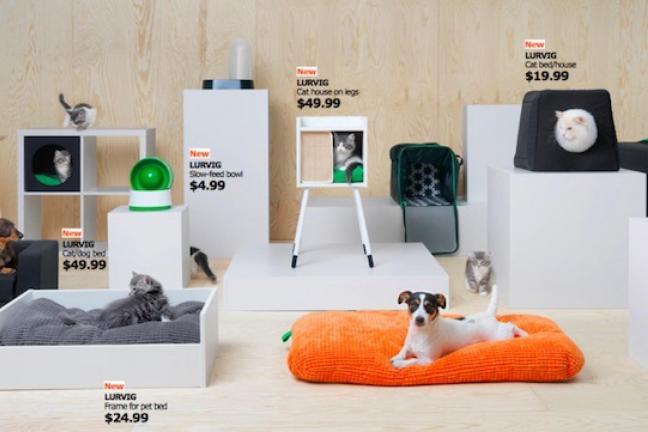 IKEA stworzyła kolekcję dla zwierząt