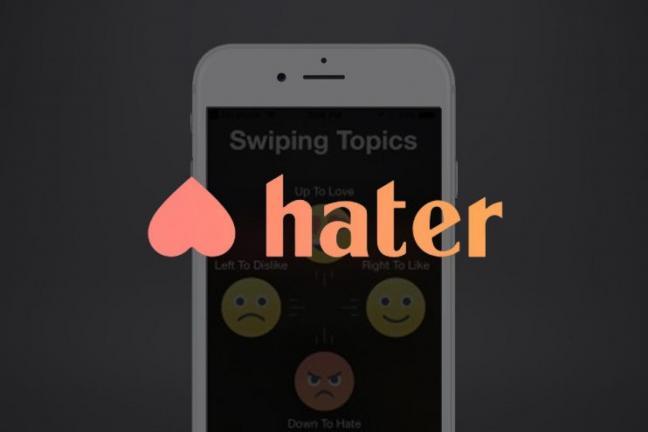 Hater - nietypowa aplikacja randkowa