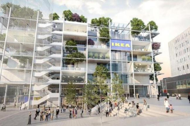 IKEA stworzy sklep z drzewami zamiast parkingu