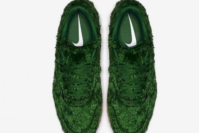 Trawiaste buty od Nike
