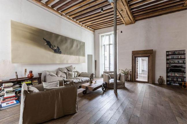 Loft artysty w Marais