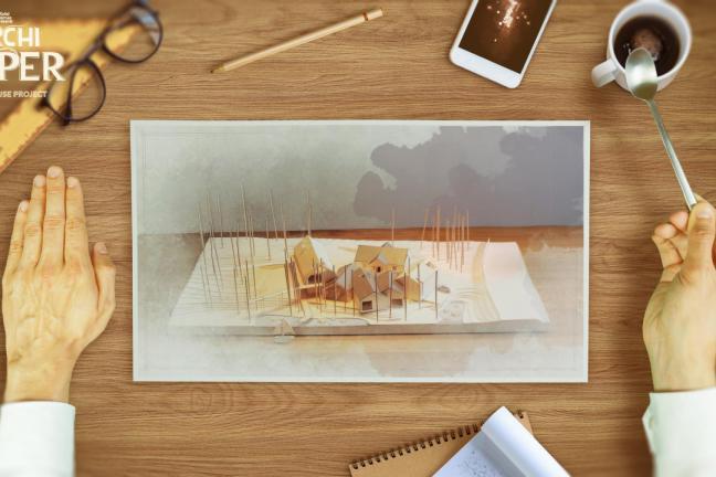 ArchiPaper. Surrealistyczna opowieść o architekturze