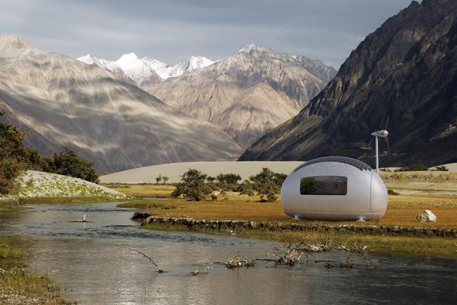 Mikro-dom, w którym możesz zamieszkać gdziekolwiek zechcesz