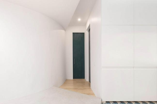 Reinterpretation of historic apartment