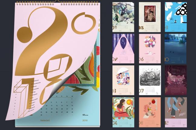 Niezwykły kalendarz charytatywny 2018