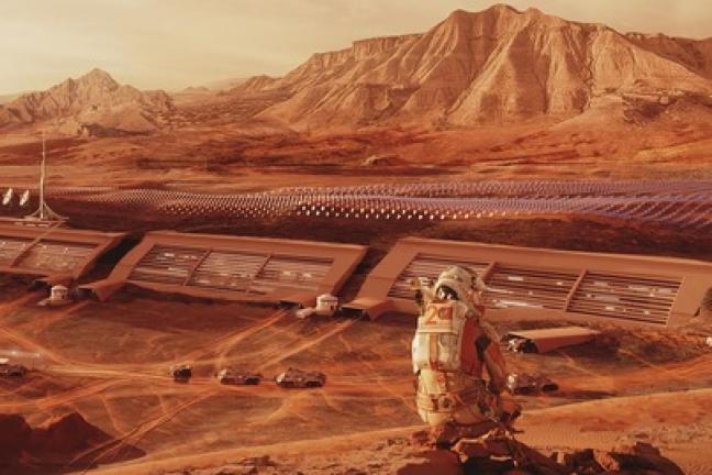 Polski projekt kolonii na Marsie