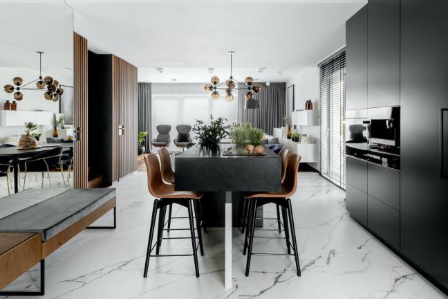Luksusowo i modnie w kuchni