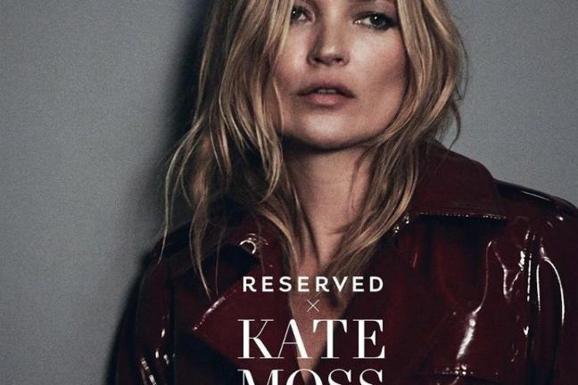 Kampania Kate Moss dla Reserved