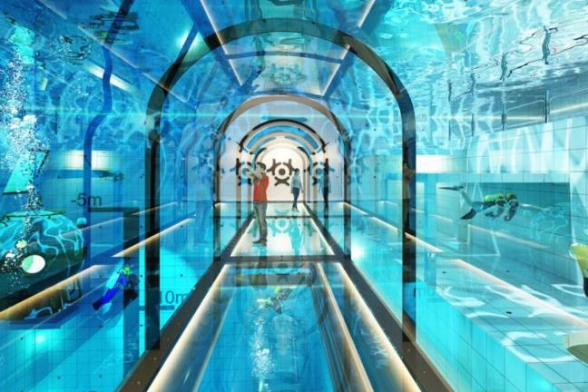 W Polsce postanie najgłębszy basen świata!