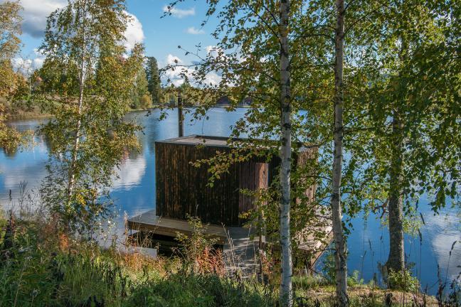 Slow living: Sauna na jeziorze