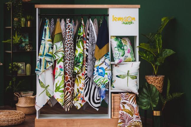 Lemoon House zachwyca feerią barw i wzorami z dalekich zakątków świata