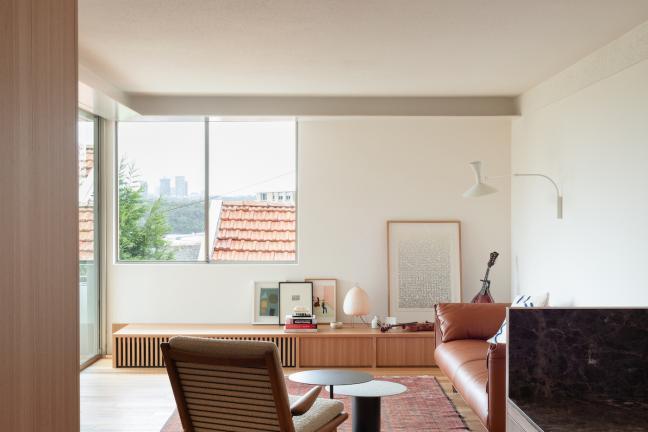 Minimalistyczne mieszkanie po babci