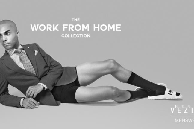 The Canadian brand presents a collection to work from home