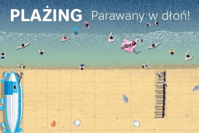 Gra planszowa z plażowymi parawanami w roli głównej