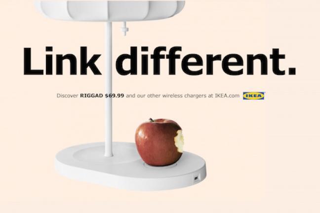 Apple głównym bohaterem kampanii IKEA