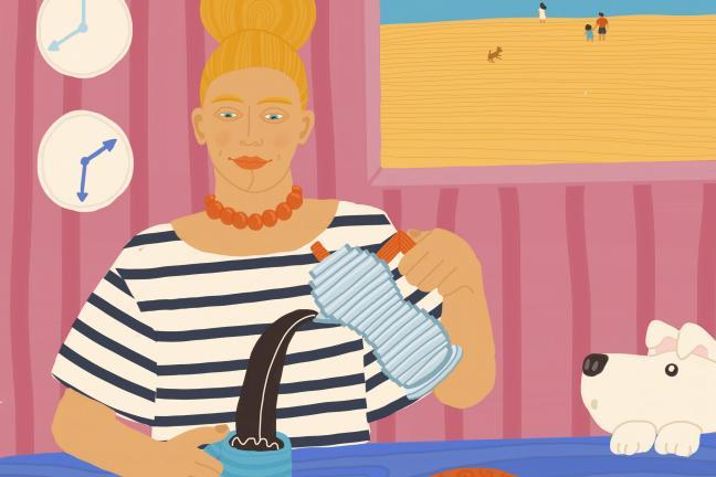 100 portretów w 100 dni: Wdzięczność w oczach ilustratorki Justyny Green