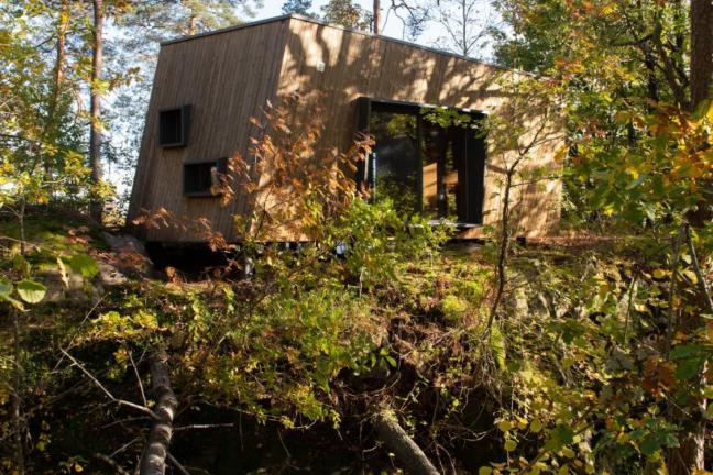 Norweska filia szpitala w lesie