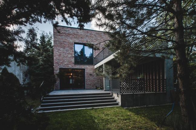 Warszawski dom z recyklingu