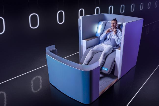 Luksus na pokładzie samolotu
