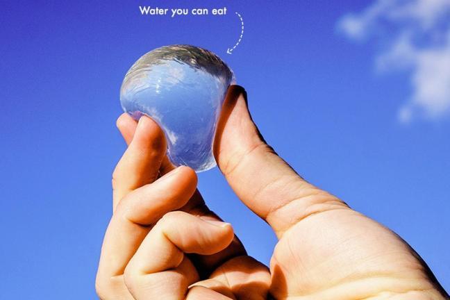 Water in drop
