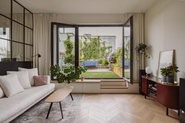 Przestronne mieszkanie na warszawskim Wilanowie