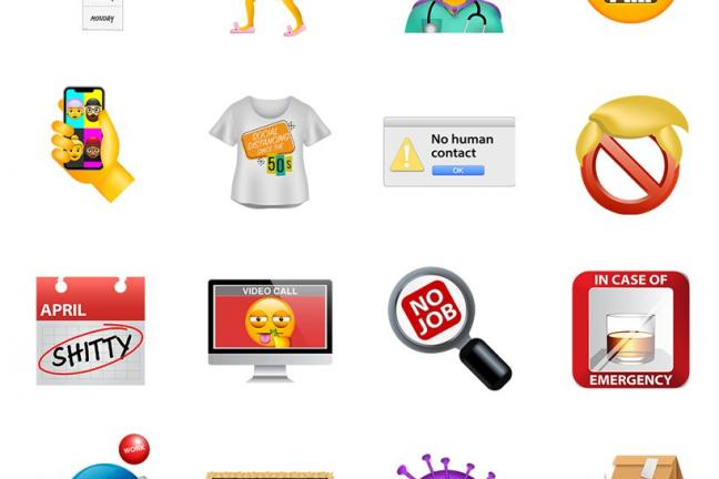 Emoji na czas koronawirusa