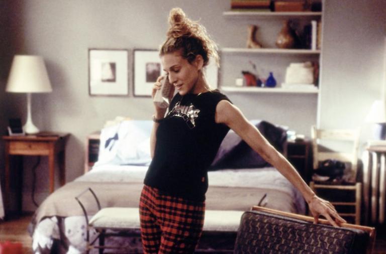 Carrie w mieszkaniu