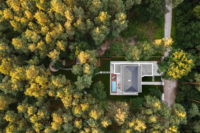 Butikowa rezydencja w lasach pod Warszawą
