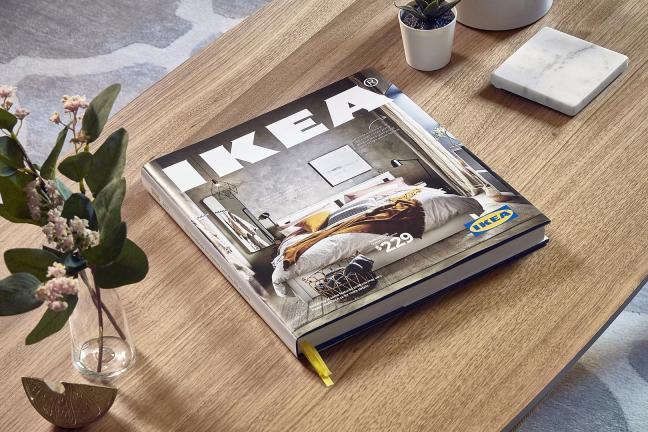 Katalog IKEA w twardej oprawie