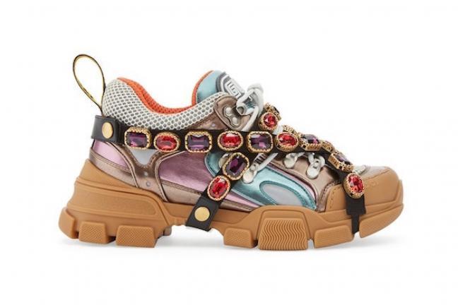 Gucci offers original shoes