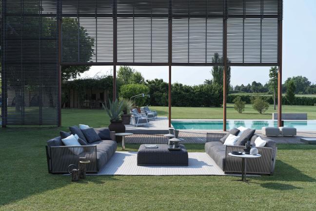 Sofa Vulcano elegancja i komfort również w wersji outdoorowej