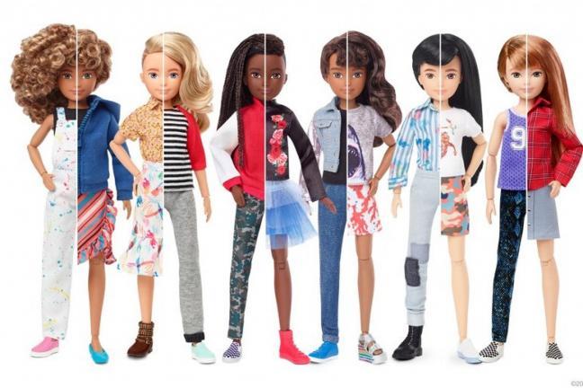 Barbie neutralne pod względem płci