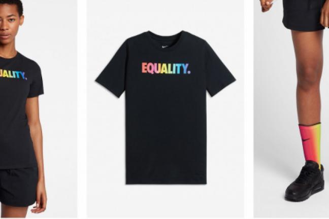 Kolekcja Nike nawiązująca do symboli LGBT