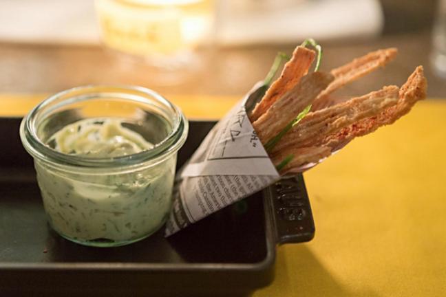 Dizajn+kuchnia: WastED London - restauracja, która ugotuje z resztek