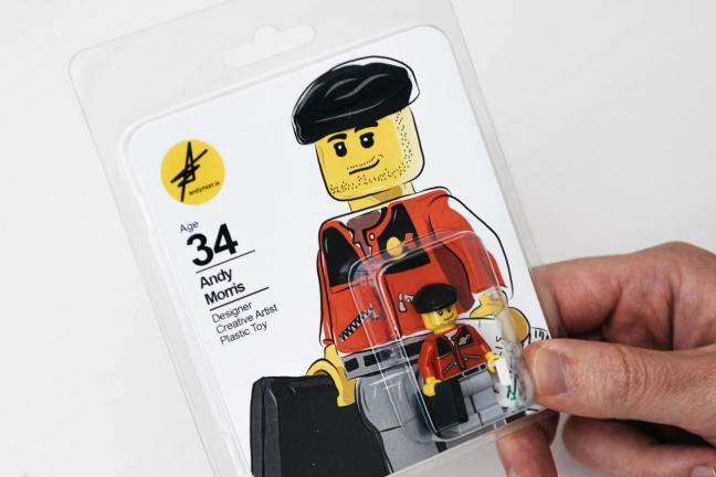 Figurka Lego zamiast CV