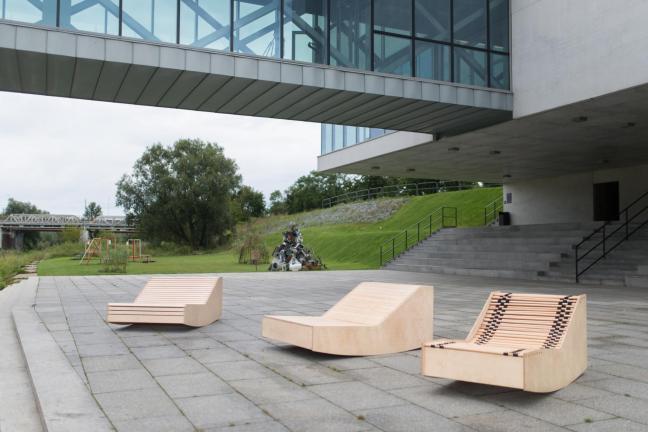 Poznań zyskał nowe miejskie meble