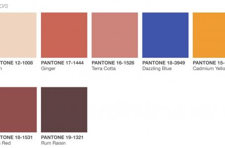 Pantone colors for spring-summer 2019