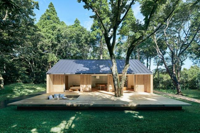 A new prefabricated house from Muji