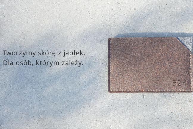 Polska alternatywa dla skóry wykonana z jabłek!
