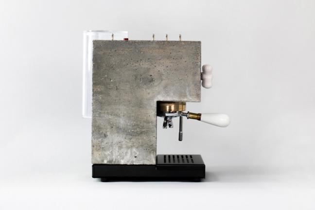Ekspres do kawy z betonu