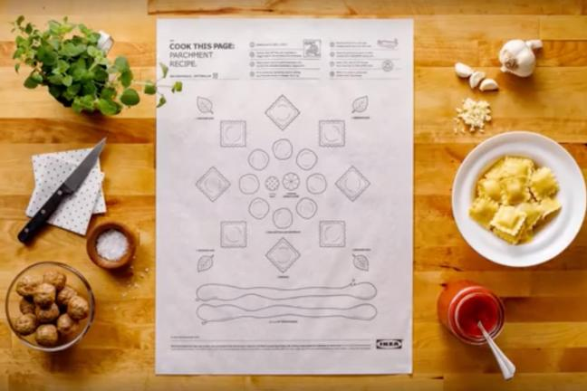 Posters using which you will cook dinner