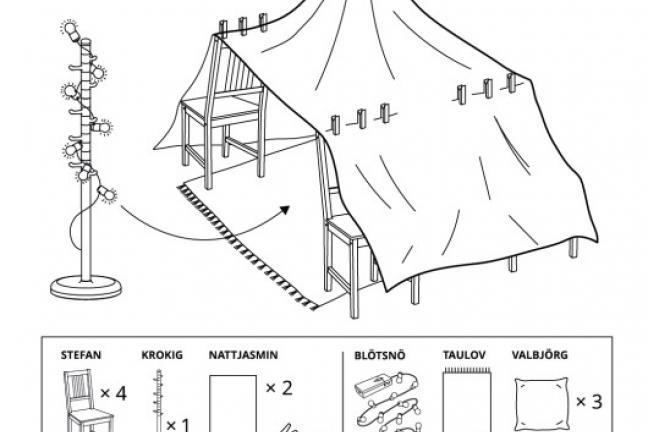 IKEA przygotowała pomysły na zabawę z dziećmi