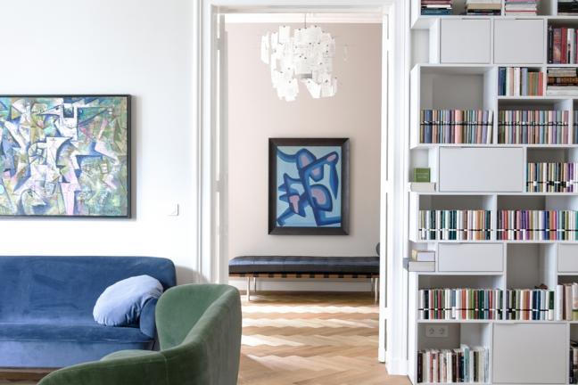 Adaptacja wnętrza w sercu berlińskiej dzielnicy Charlottenburg