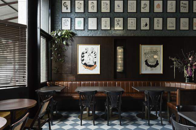 Atmospheric bar in Melbourne